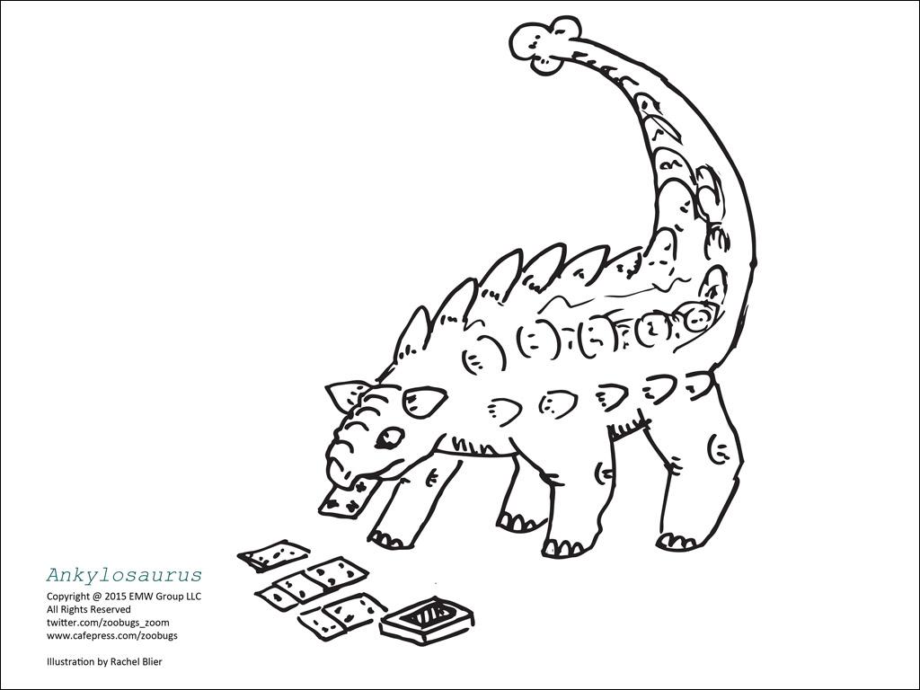 Dinosaur Coloring Sheets 6