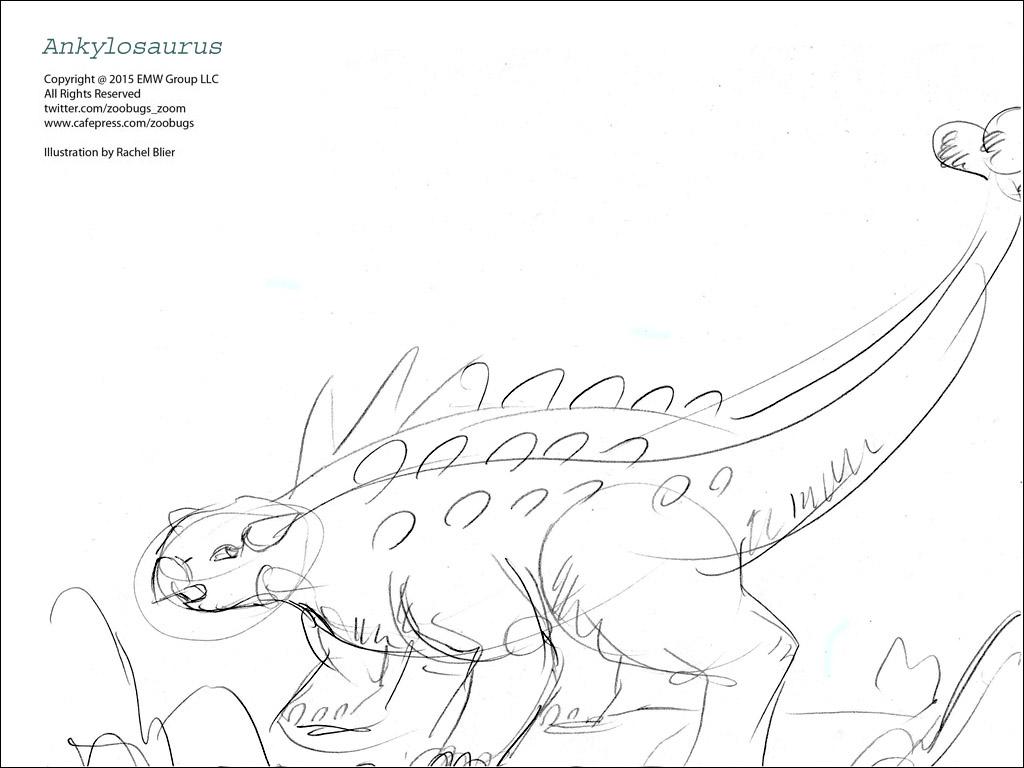 Dinosaur Coloring Sheets 7